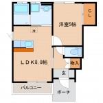 〈上古川新築〉アクアC 101,102号室